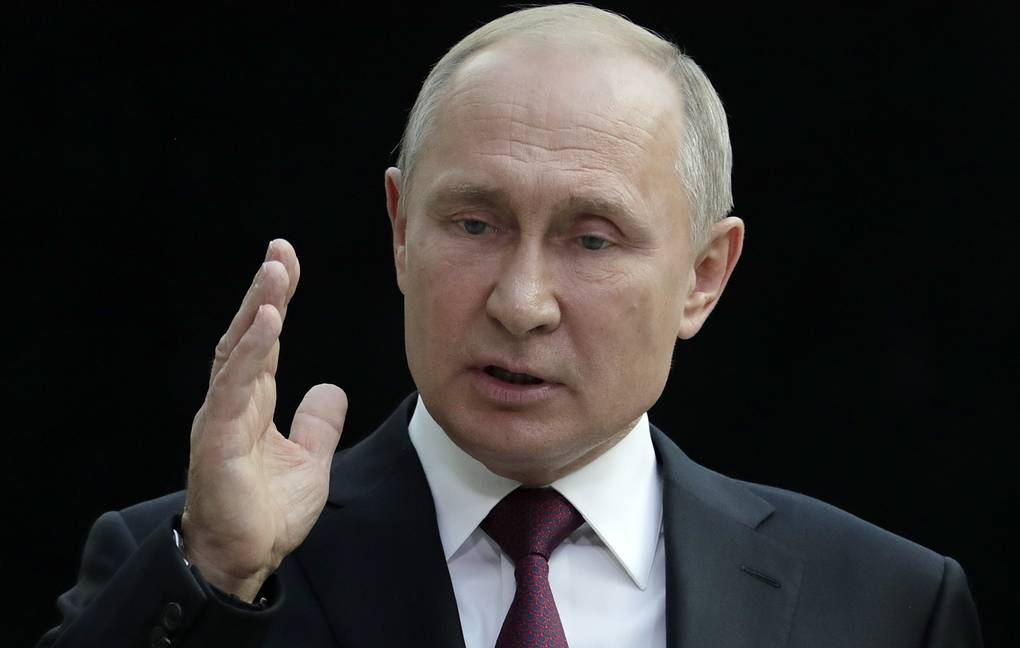 Putin says Russian Federation open to dialogue with US