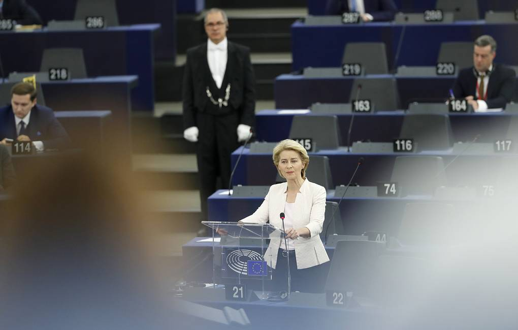 Von der Leyen outlines position on migration, other EU challenges