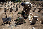 The cemetery of Douma, Syria (archive)