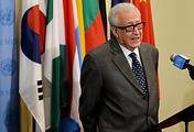 United Nations and Arab League special envoy to Syria Lakhdar Brahimi