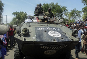 Boko Haram armoured vehicle