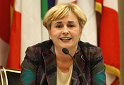 Italy's Economic Development Minister Federica Guidi