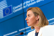 Federica Mogherini, the EU High Representative for Foreign Affairs and Security Policy