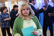 The head of Russia's Central Election Commission Ella Pamfilova