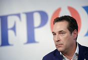 Heinz-Christian Strache, leader of the Freedom Party of Austria