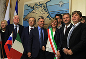 Italian delegation in Crimea