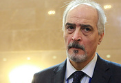 Head of the Syrian government delegation, Bashar al-Jaafari