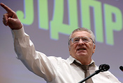 Leader of the LDPR party Vladimir Zhirinovsky