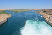 The Euphrates river in Syria