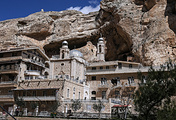 A view of Maaloula, Syria