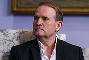 """Head of the Political Council of the Ukrainian Party """"Opposition Platform - For Life"""" Viktor Medvedchuk"""