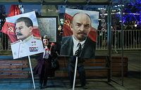 Russian October Revolution Anniversary in Moscow, November 7
