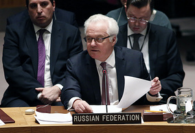 Vitaly Churkin, Russian Ambassador to UN