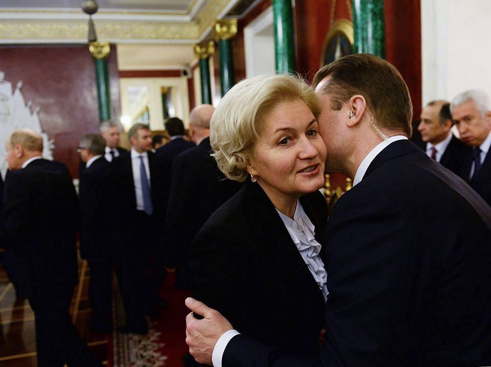 Russia's Deputy Prime Minister Olga Golodets