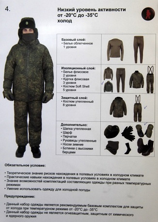 New all-season military field uniform