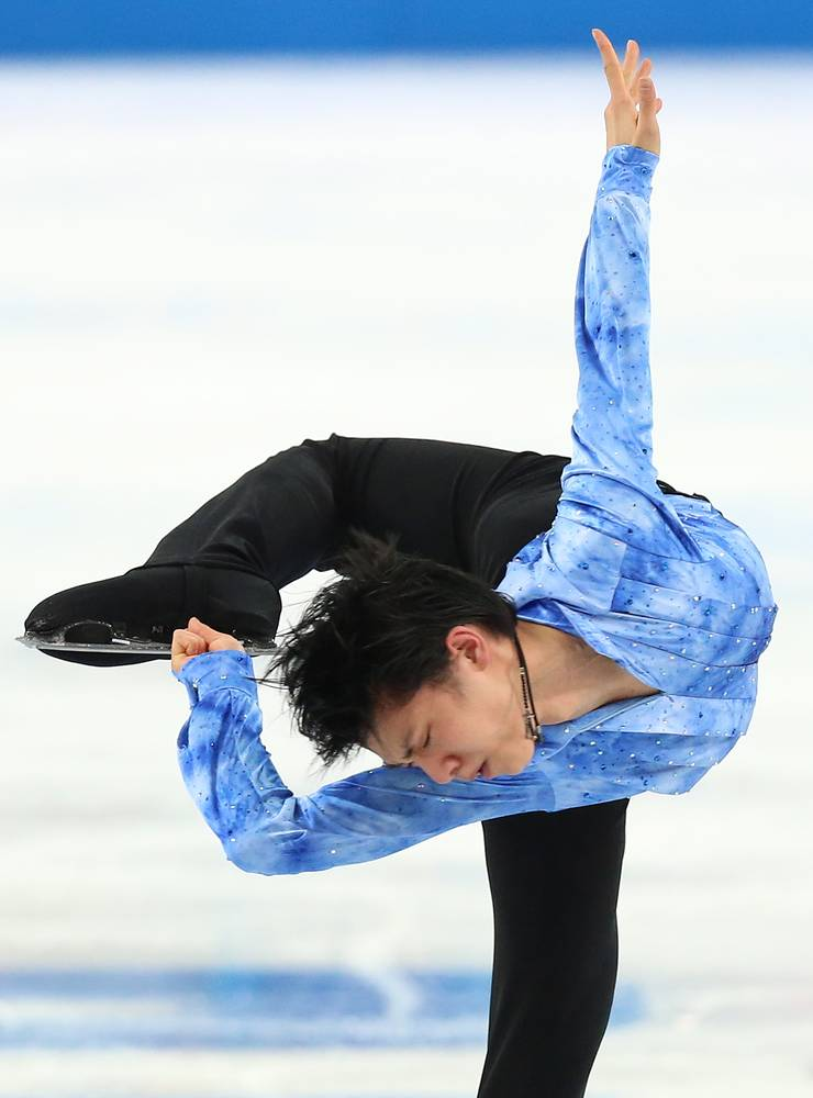 However good Plushenko might have been it is Yuzuru Hanyu of Japan that is leading after the short program