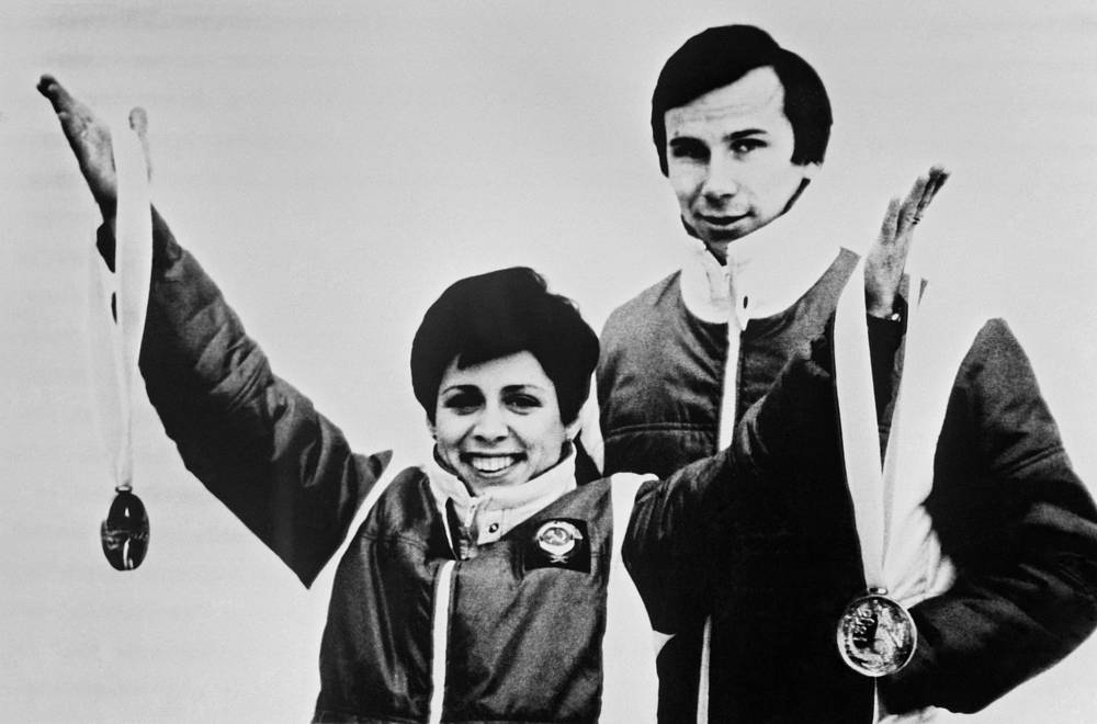 Irina Rodnina is the only pair figure skater to win 10 successive World Championships and three successive Olympic gold medals