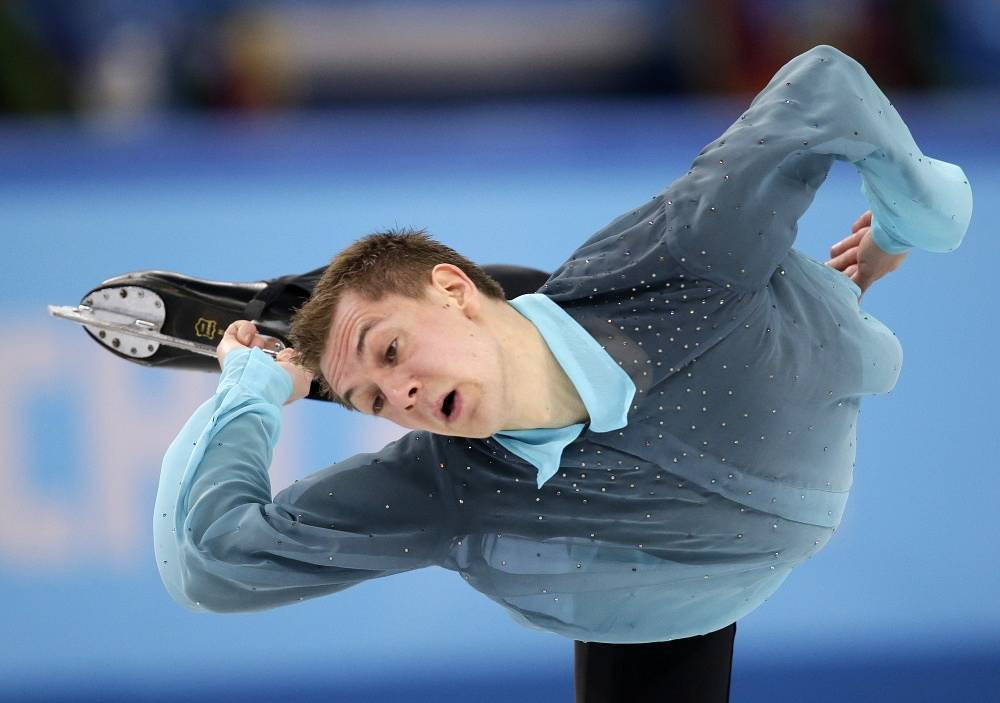 German skater Peter Liebers (86.04)