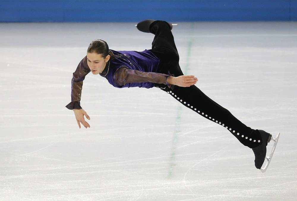 American skater Jason Brown (86.00)