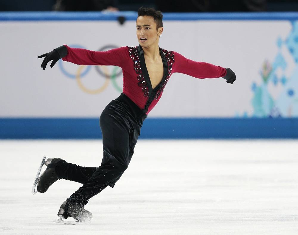 French skater Florent Amodio (75.58)