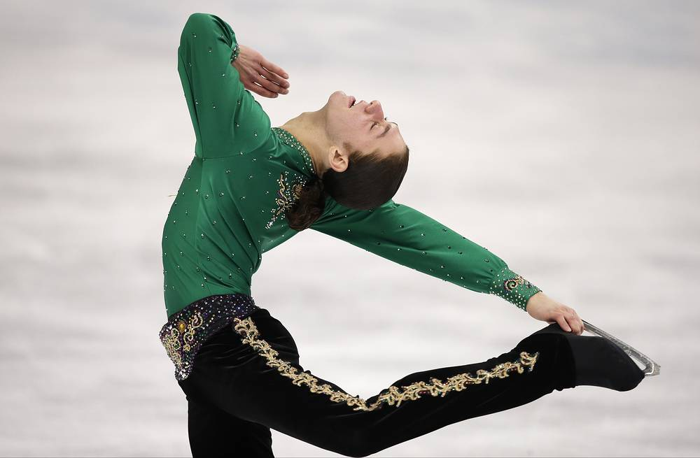 Jason Brown of the United States