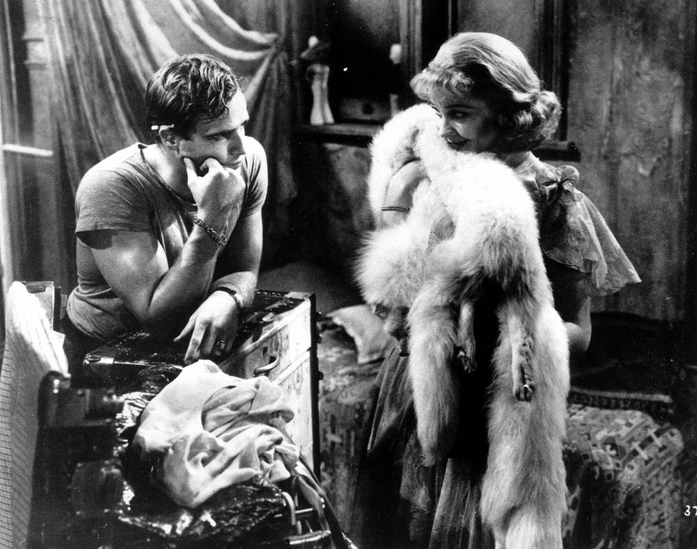 In 1947 Marlon Brando became widely known after his role of Stanley Kowalski in Tennessee Williams' play 'A Streetcar Named Desire'. the play was screened in 1951