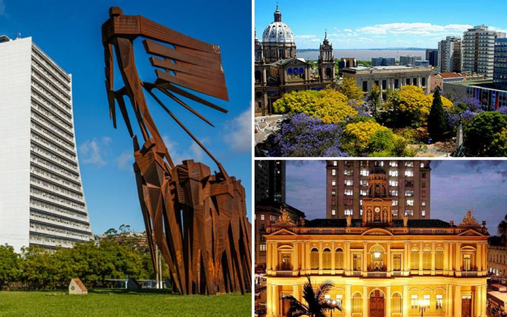 The capital and largest city in the Brazilian state of Rio Grande do Sul, Porto Alegre was founded in 1722 and has a population of 1,5 mln. people. It's one of the most important cities in the south of Brazil, with a developed economy and cultural life