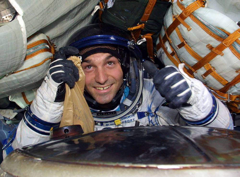 South-African businessman Mark Shuttleworth  was the second space tourist at the ISS. He was on the ISS from April 27 to May 5 in 2002. Shuttleworth founded Thawte Internet company.