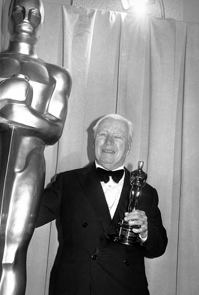 Charlie Chaplin received three Oscar awards