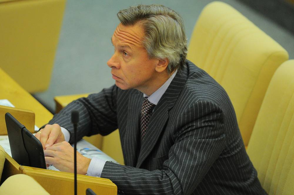 Head of the foreign-affairs committee in the State DumaAlexei Pushkov