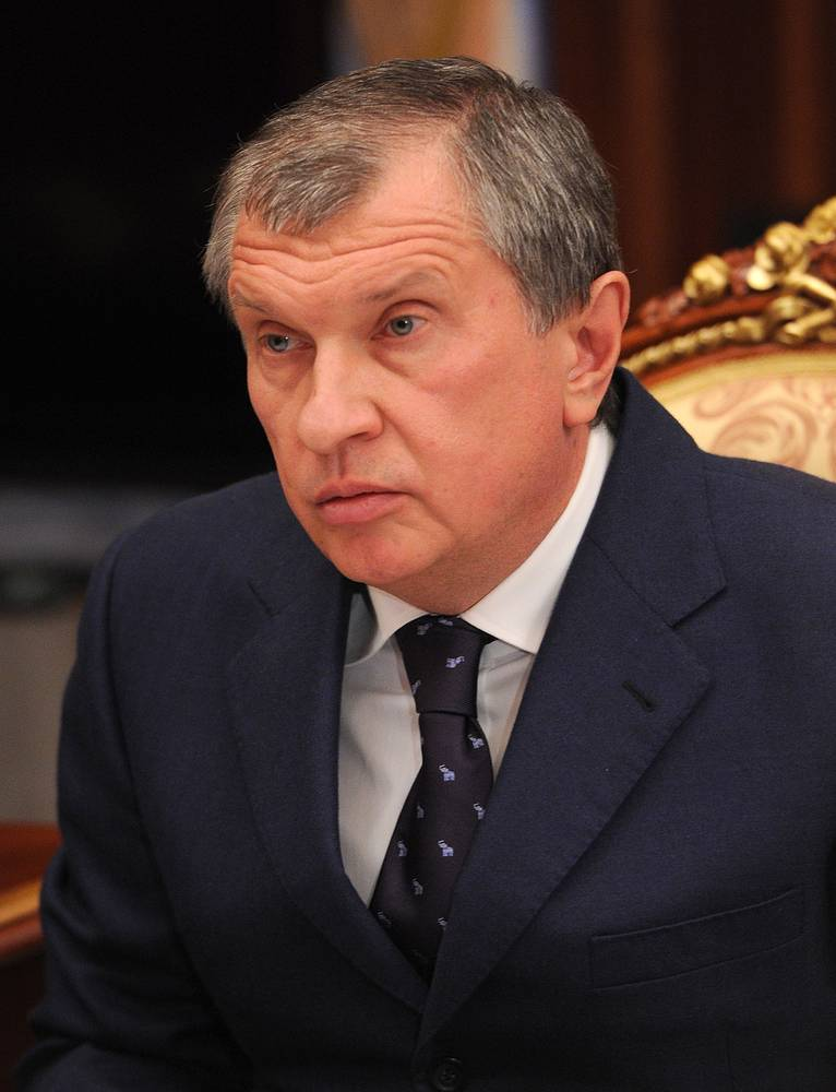 Executive Chairman of Rosneft Igor Sechin