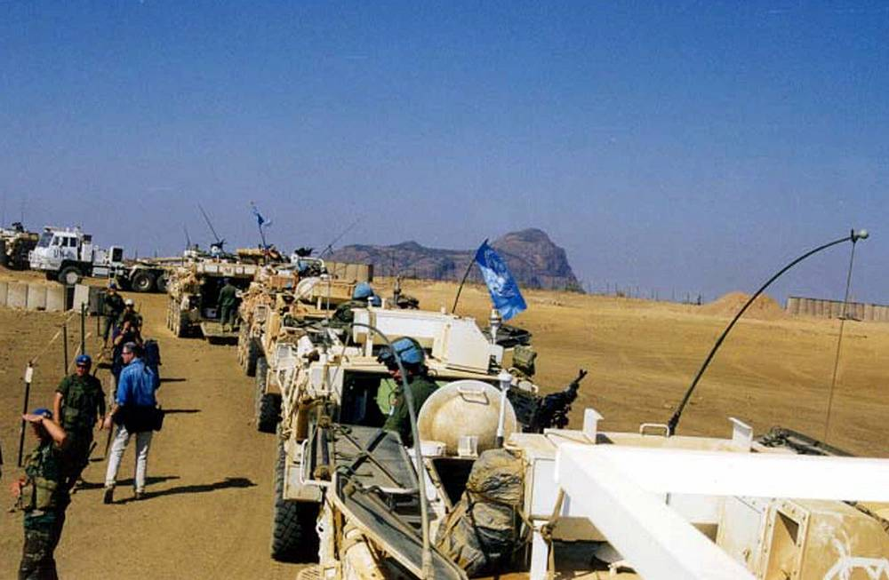 Mission in  Ethiopia and Eritrea. After Eritrea got its independence from Ethiopia in 1993, border dispute between the two states became acute. In 1998 Eritrea invaded Ethiopia starting a war that took over 70,000 lives