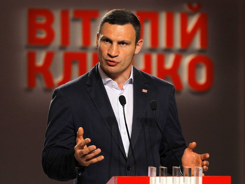 Vitali Klitschko at the moment is by far leading in the vote count, and he is most likely to take the post of Kiev Mayor