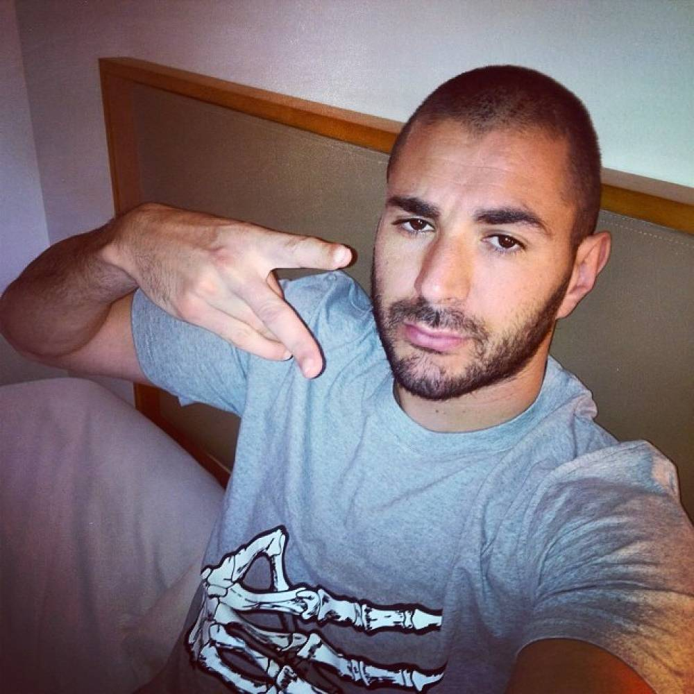 Karim Benzema (photo) almost made a hat trick in France's first match against Honduras