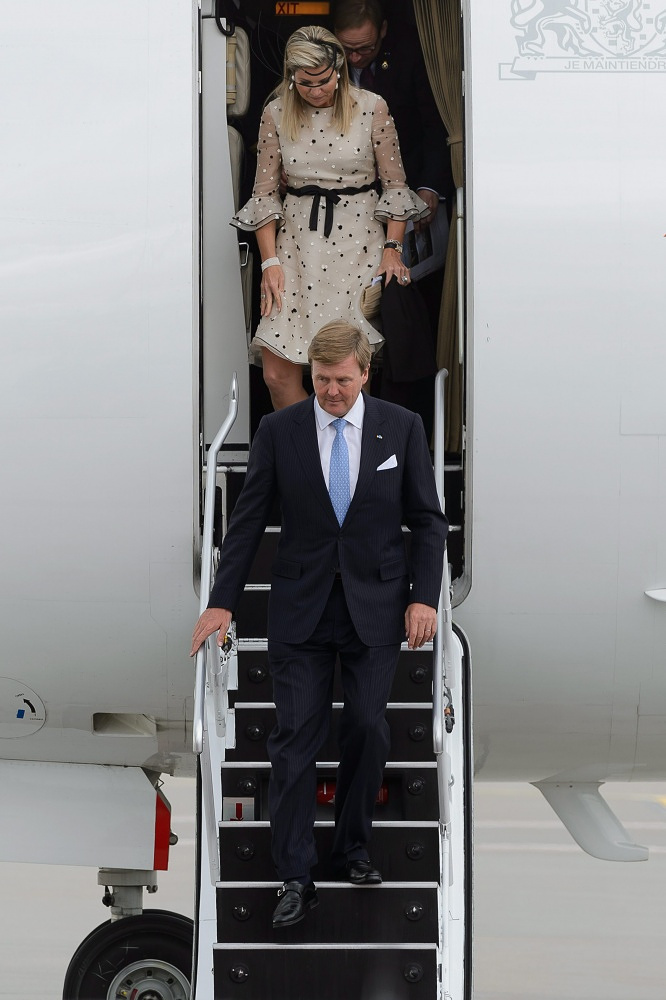 Netherlands King Willem-Alexander and Queen Maxima in Poland in 2014