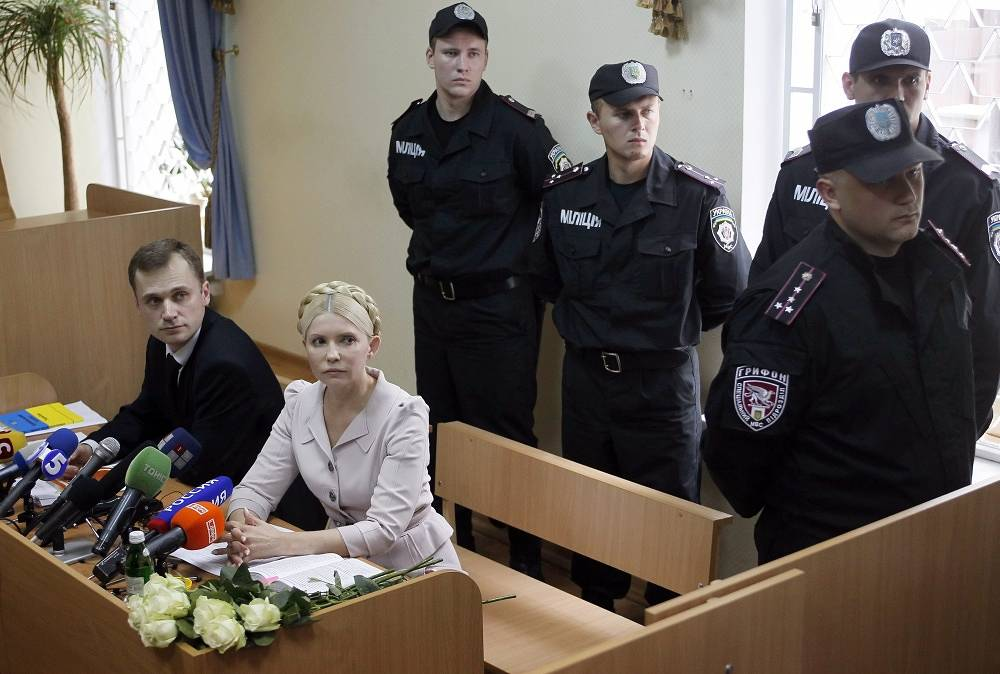 In October 2011 former prime minister of Ukraine Yulia Tymoshenko was sentenced to seven years in prison on the charge of abuse of office when signing gas agreements with Russia. On February 22 2014 she was released from prison and cleared of charges