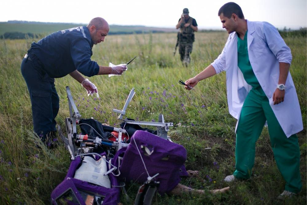The are of the search is around 120 square kilometers