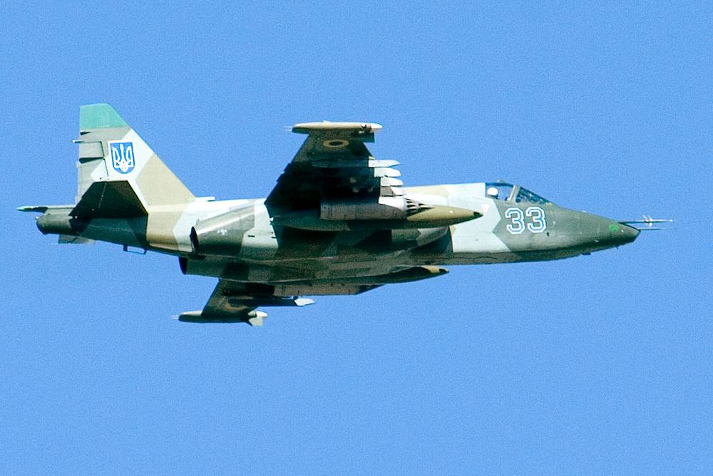 Su-25 is a close air support jet which can fly at altitudes of up to 10 km and among other weapons, is armed with P-60 air-to-air missiles, head of the Main Operations Department of the Russian Army General Staff reported on July 21