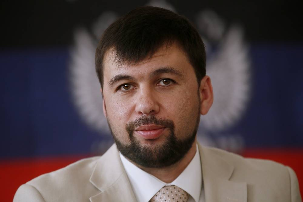 """Denis Pushilin of the Donetsk People's Republic says he has no bank deposits abroad: """"I don't know how much more ridiculous sanctions or placements on wanted list there will be. They'd better think about the lives saved or ruined because of their policy."""""""
