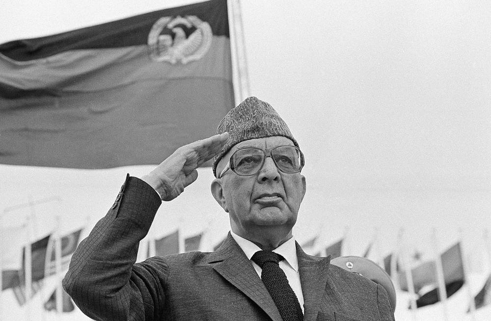 Mohammed Daoud (photo) became the first President of Afghanistan.