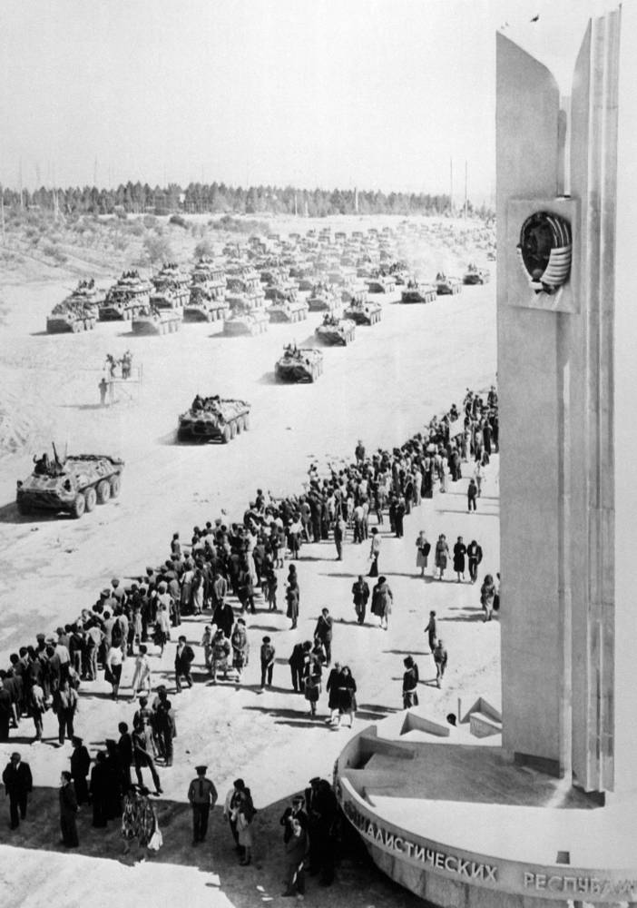 The Soviet troops were withdrawn 10 years after, in 1989