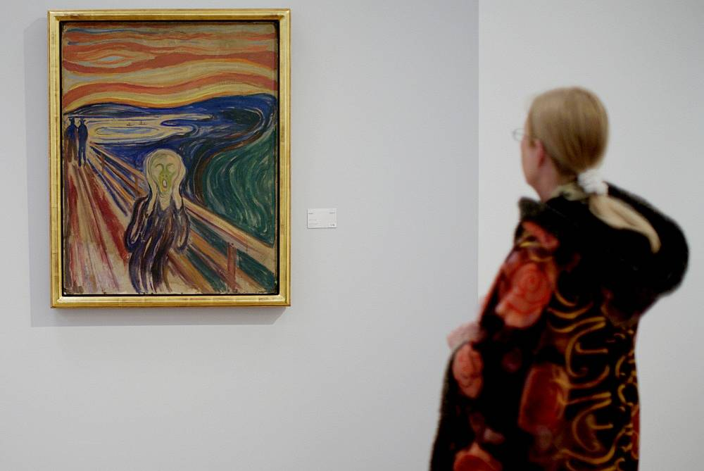 On August 22, 2004 two of Edward Munch's paintings ('Madonna' and 'The Scream') were stolen from the Munch Museum in Oslo. 'The Scream' is Munch's most famous painting worth over $80 mln.