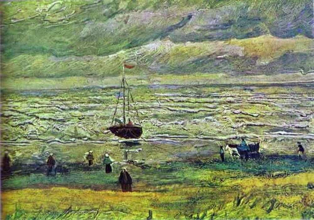 In December 2002, two famous paintings were stolen from Van Gogh Museum in Amsterdam. 'Congregation Leaving the Reformed Church in Nuenen' and 'View of the Sea at Scheveningen' (photo) are valued at $30 mln. The paintings are still missing