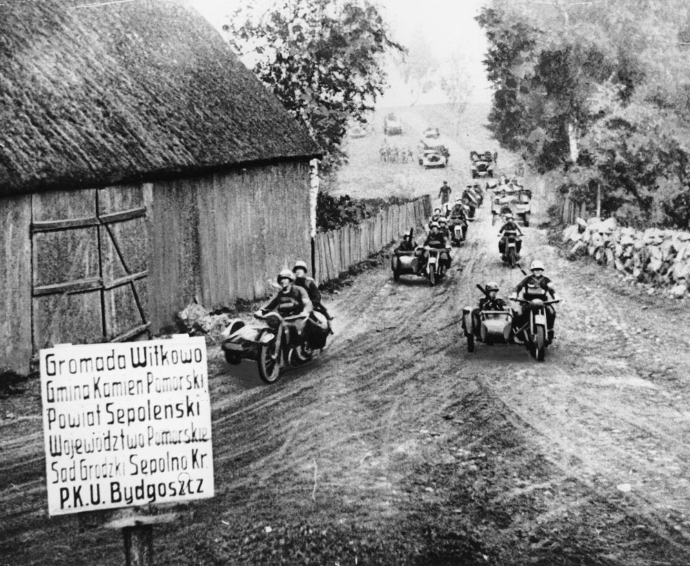 On September 1, 1939, German and Slovak troops started a massive invasion of Poland
