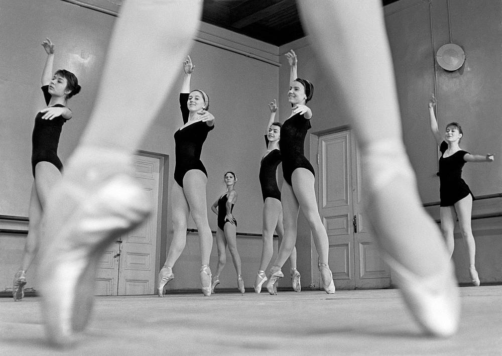Moscow. A lesson at the choreography school, 1967
