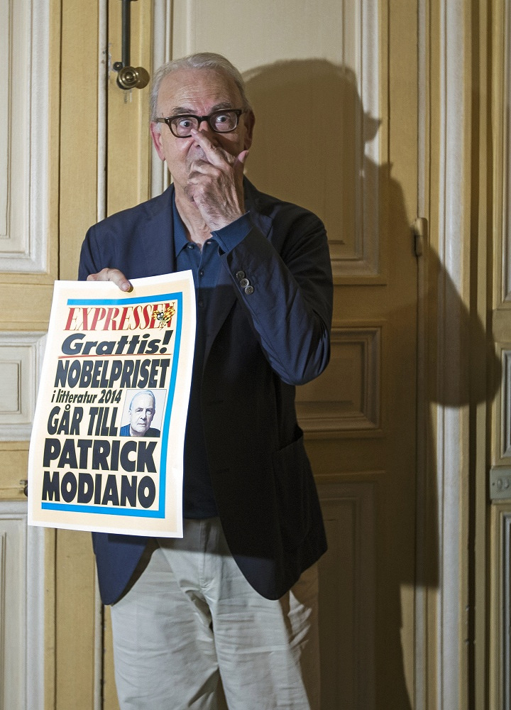 Patrick Modiano of France won the 2014 Nobel Prize for Literature