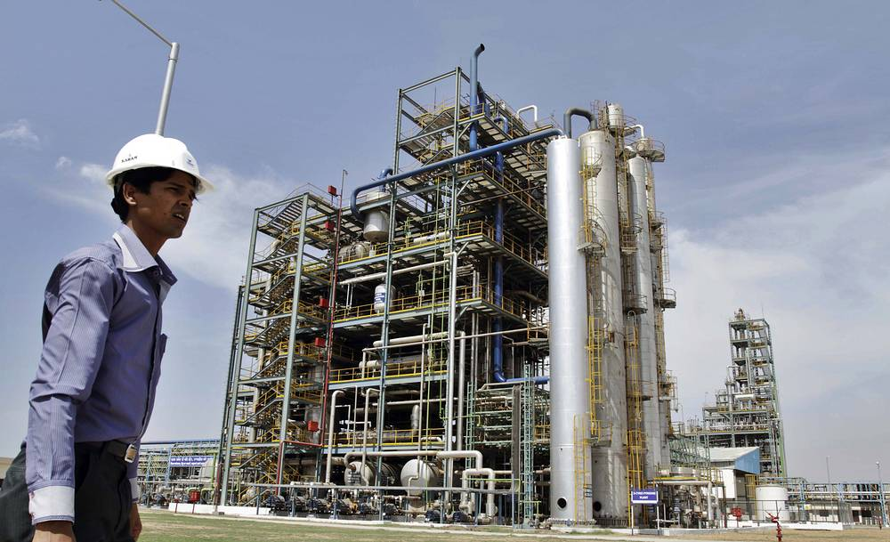 India was one of the first countries in Asia to recognize the effectiveness of SEZs. Photo: Cyno Pyridine plant at Jubilant Special Economic Zone near Bharuch, India