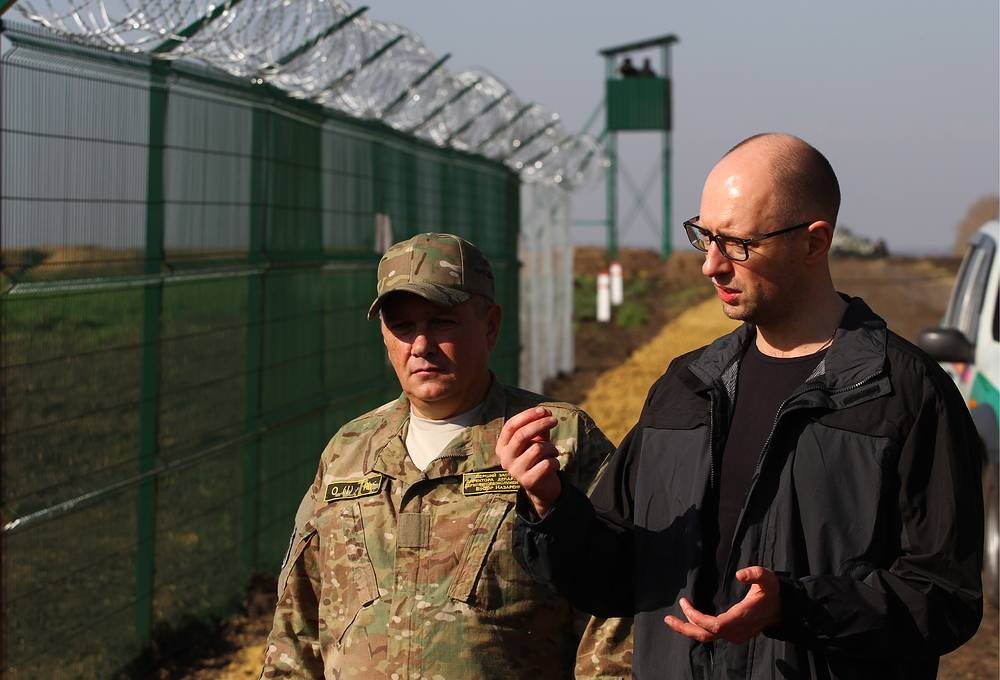 On September 3, Ukranian Prime Minister Arseniy Yatsenyuk announced plans to build a 2,295-kilometer long border with Russia, the so-called Wall project