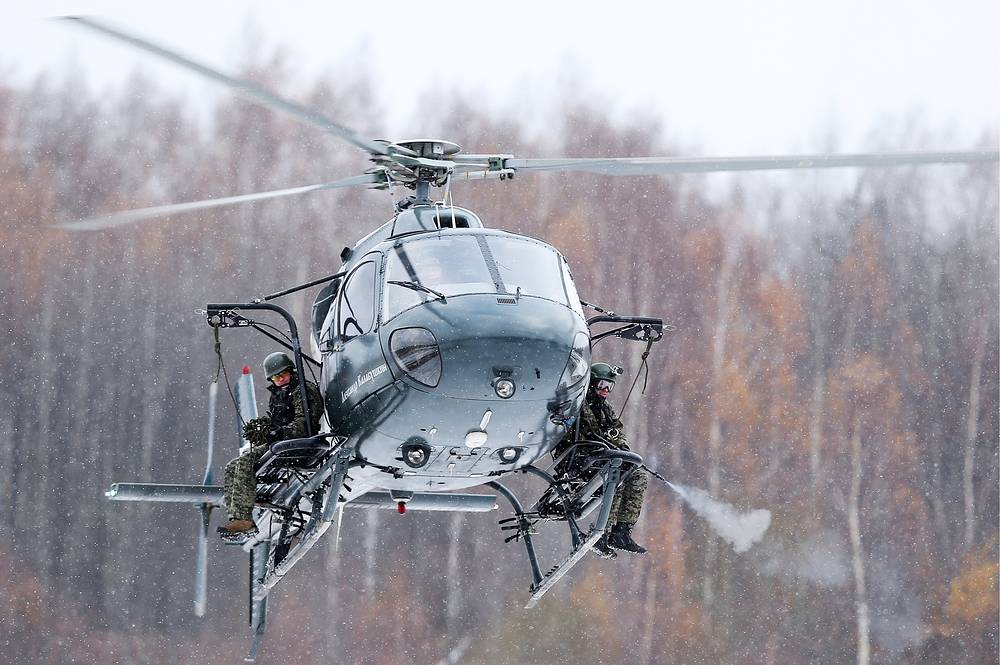 Eurocopter AS 355N Alexander Kalabushkin
