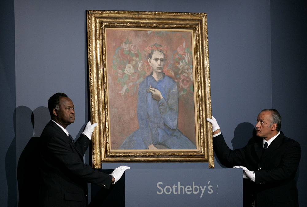 """In 2004 Pablo Picasso's 1905 painting """"Boy with a Pipe"""" was sold for $104 million at Sotheby's in New York. Acoourding to sources, the painting was sold to italian Barilla Group"""